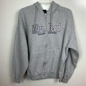 Hilton Head South Carolina zip hoodie womens XL